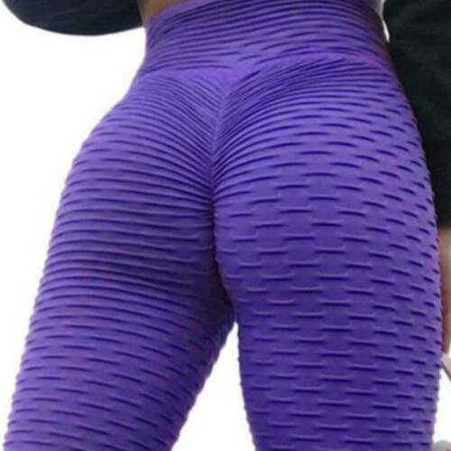 Women High Waist Butt Lift Yoga Pants Anti Cellulite Leggings Gym Sport Trousers