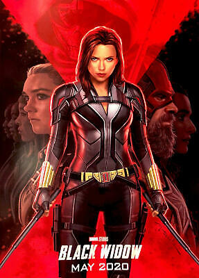 Black Widow Movie 2020 New 20x30 24x36 Silk Art Poster