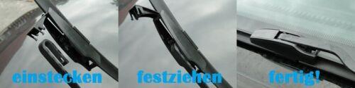 2x FLEX Scheibenwischer für Citroen Berlingo 1996-2008 Super Optik EASY-CLIP OVP