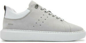 Details about Nubikk Amsterdam Scott Nubuck Grey Trainers Leather Sneaker Shoes New Grey