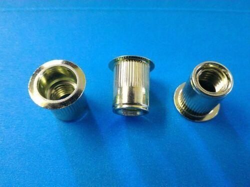 10/% Rebate Rivet nuts 3//8-16 steel 10pc BUY 3 or MORE rivnut riv nut nutsert