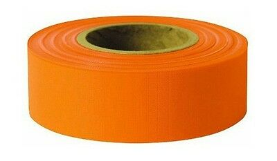 Glo 2.5 mil Grade Flagging Tape x 300ft Swanson RFTYL300 6 pack 1-3//16in