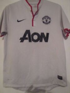 84172eeb279 Image is loading Manchester-United-2011-2012-Away-Football-Shirt-Medium-