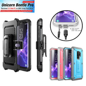 For Samsung Galaxy S9 / S9 Plus Case, SUPCASE UBPro Full-Body Cover +Screen+Clip