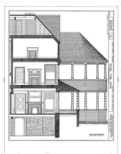 Queen Anne Shingle Style house blueprints Historic Rhode Island Mansion