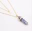 Piedras-preciosas-naturales-talladas-con-punta-hexagonal-Reiki-Chakras-Colgante-de-curacion-Collares miniatura 17
