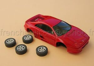 Lv Voiture Ferrari F355 355 Berlinetta Collector Rouge 1/43 Heco Modeles