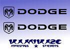 ADESIVO STICKER STICKER AUTOCOLLANTI ADESIVI AUFKLEBER DECAL X2 DODGE LOGO
