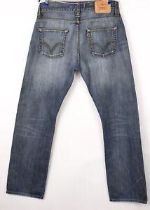 Levi's Strauss & Co Hommes 506 Droit Jambe Slim Jean Taille W33 L32 BCZ671