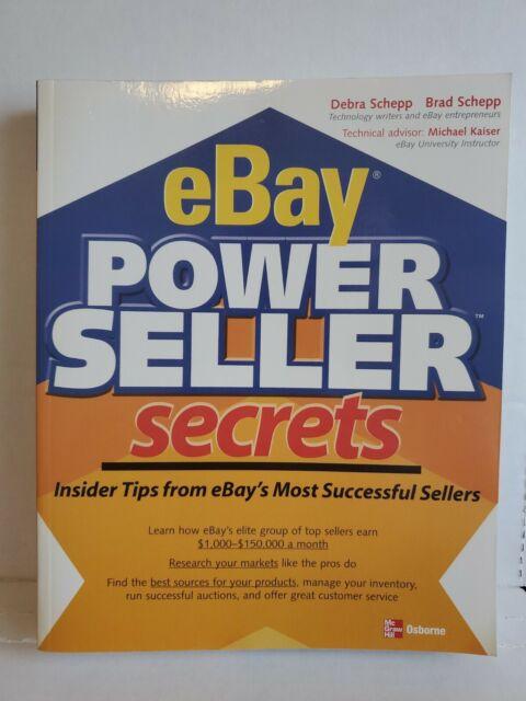 ebay power seller secrets - 1st edition - paperback