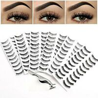 Bella Hair 60 Pairs Natural Thick Soft False Eyelashes With Professional False