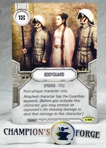 Star Wars Destiny Legacies Bodyguard #166 Uncommon