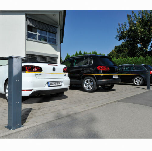 Elektrischer Seilabsenker Kettenabsenke.Parkplatzsperre Kettensperre Seilsperre