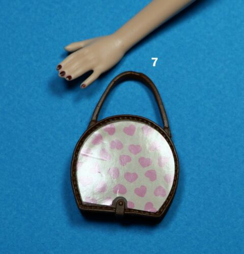 Barbie Fashionistas Brown Amber Tan Purse Bag Choose Pick One for 1//6 Scale Doll