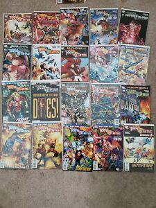 LOT-of-20-DC-Comic-TEEN-TITANS-Vol-3-63-74-amp-77-83-Annual-Sean-McKeever