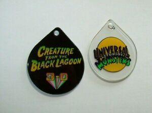 Creature-From-The-Black-Lagoon-Pinball-Machine-Plastic-Key-Chain-Set-NOS-Bally