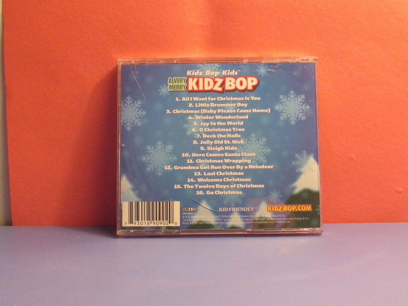 A Very Merry Kidz Bop by Kidz Bop Kids (CD, Sep-2005, Razor & Tie ...