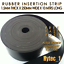 RUBBER INSERTION STRIP 1.5 MM THICK X 250 MM WIDE X 10 METRES LONG COILHYT