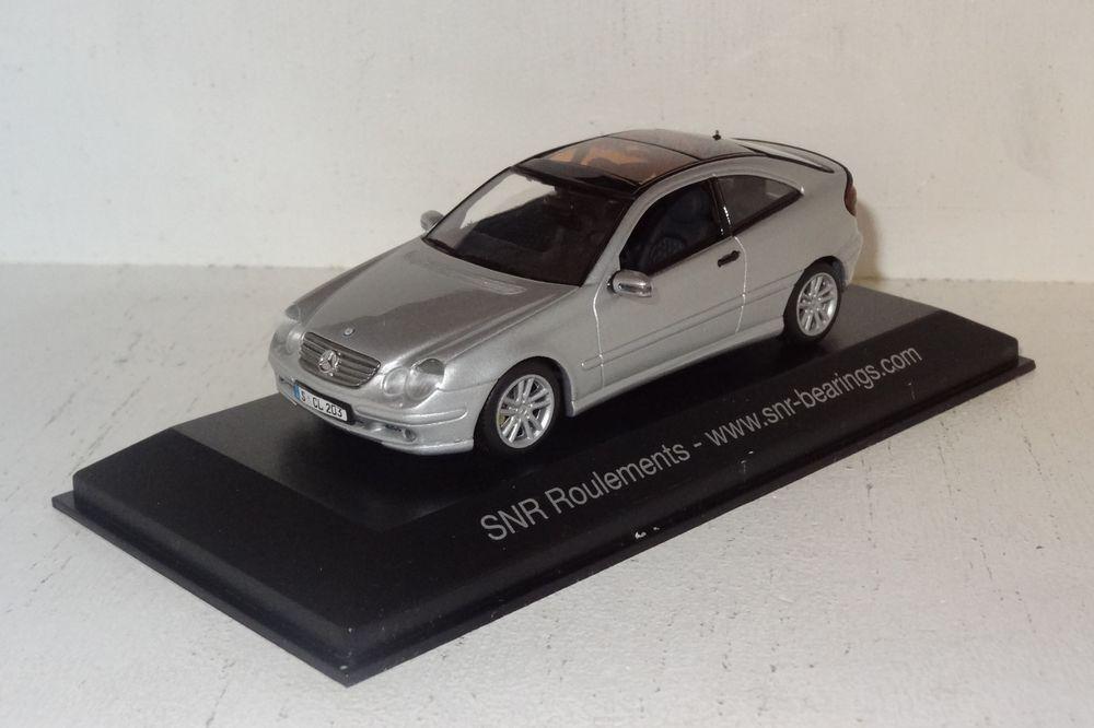 Minichamps Mercedes C Coupe SNR roulemets publicitaires Modèle 1 43 PC + neuf dans sa boîte (2 _ 1 _ 32)