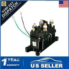 Universal 12V Solenoid Relay Contactor Winch Rocker Switch Thumb Truck ATV UTV