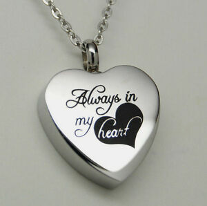 Always In My Heart Cremation Jewelry Always Heart Urn