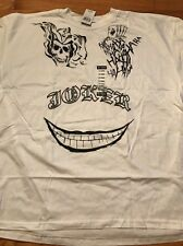 NWT DC Comics Joker Tattoos Suicide Squad Tee Shirt Men's Size 3XL