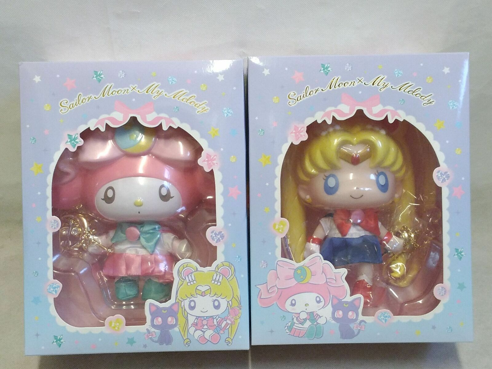 Sailor Moon My Melody 25th Anniversary Puppe & Halskette Set
