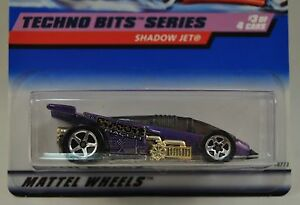 Hot-Wheels-Techno-Bits-1-Shadow-Jet-Car-18771-691-5SP-New