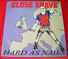 Close Shave Hard As Nails LP UK RI 2010 84 Records HARD LP 14 NEW Punk/Oi! VINYL