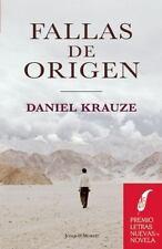 Fallas de origen (Spanish Edition)-ExLibrary