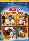 Walt Disney Mini Classics - Mickeys Christmas Carol (DVD, 2013)