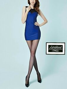 12-Denier-GRAY-Control-Top-Sheer-pantyhose-Stockings-Hosiery-Back-Shaping