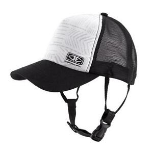 Adult-Ocean-amp-Earth-Deserts-Mesh-Trucker-Surf-Cap-in-Black-White-Tread-Pattern