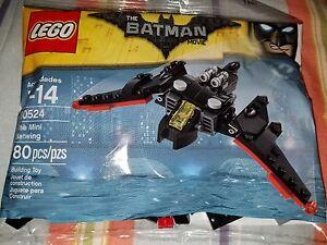 LEGO The Batman Movie Mini Batwing 30524 New Polybag Sealed