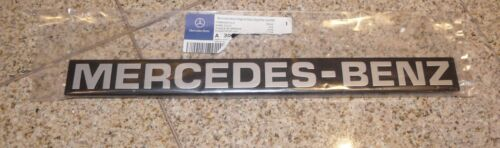 "NEW /""MERCEDES-BENZ/"" Name Plate Black Plastic Painted Letters for SPRINTER"