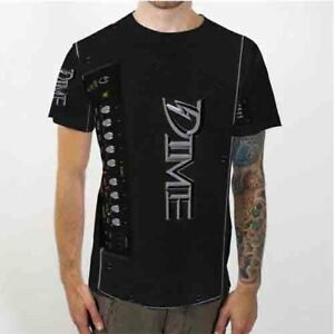 Amp Dime Dimebag D100 Guitar Tee Tshirt Fullprinted Men's T-Shirt Size S to 3XL
