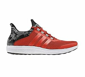 Adidas S78244 Climachill Sonic Mens Running ShoeBold Orange-White