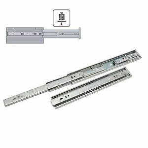 Details about Soft Close Drawer Runners Slides Self Slides All Sizes 25kg  max H45 Pair