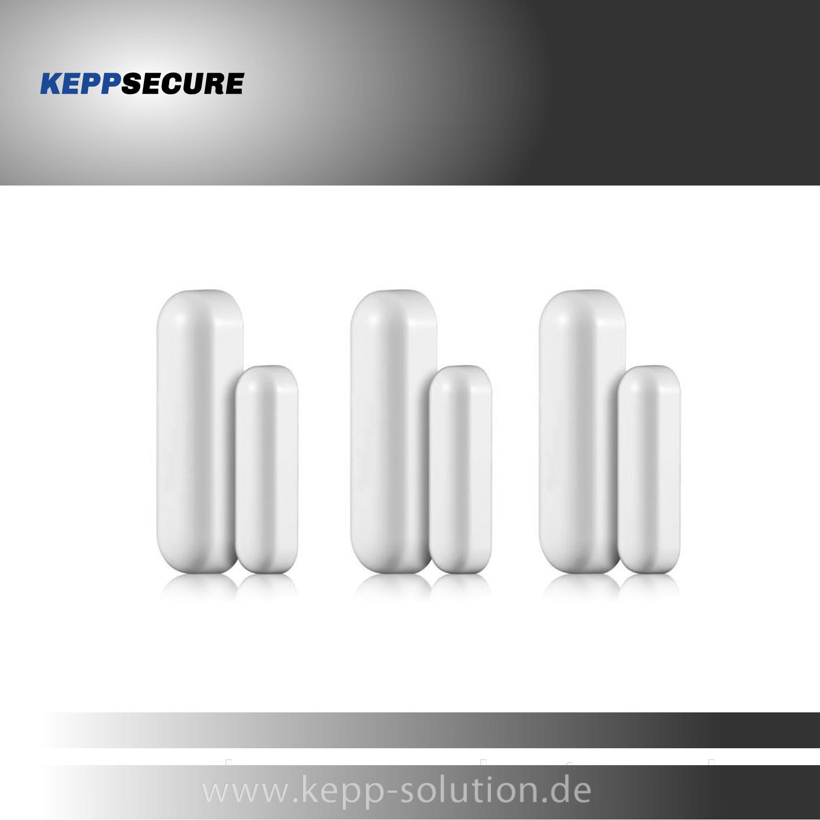 3er Set Funk Fenster-/Tür Sensor für Modell 4G
