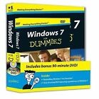 Windows 7 For Dummies Book and DVD Bundle by Andy Rathbone (Paperback, 2009)