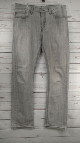 Levi's droite pour 32x35 jambe 514 coupe clair hommes Jeans claire Euc u20 gris dUSxRqYdw