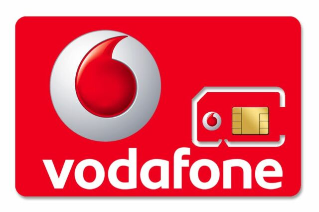 1x VODAFONE PAY AS YOU GO 3G 4G SIM CARD NEW VODAPHONE VODA PACK MINS TEXTS DATA