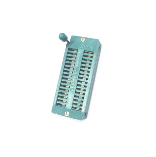 2PCS   IC 32P 32Pin  ZIF DIP Test Tester Socket 2.54MM Narrow Body