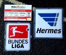 2013-15 alemán Bundesliga de fútbol Insignia Parche Oficial Lextra Set Nuevo