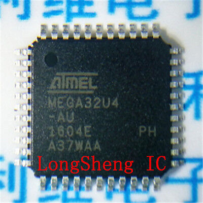 5pcs ATMEGA32U4-AU MEGA32U4-AU ATMEGA32U4 MEGA32U4 MCU IC ATMEL TQFP-44