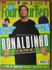 FourFourTwo March 2017 Ronaldinho Diego Maradona Pablo Zabaleta Nelson Vivas