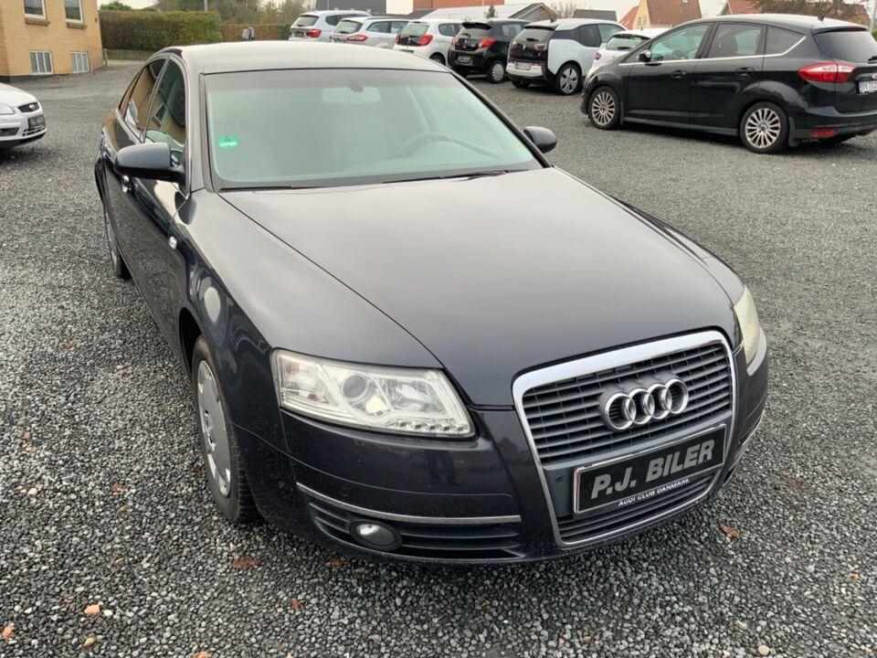 Audi A6 2,4 V6 Multitr. Benzin aut. Automatgear modelår