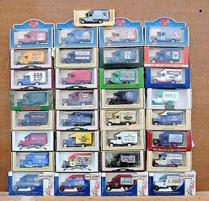 Lledo-Diecast-modelos-1935-Morris-parcelas-van-desde-1-99-elegir-de-la-lista-de-Lote-de-52