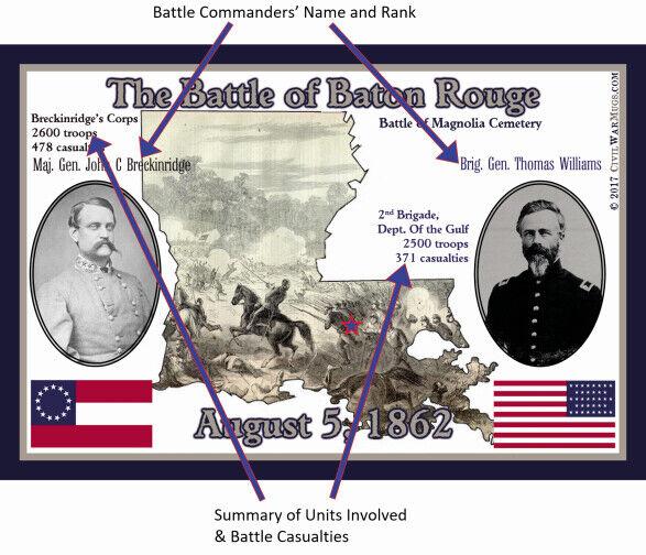 Civil War The Battle of Shiloh Collector/'s Coffee Mug Memorabilia History
