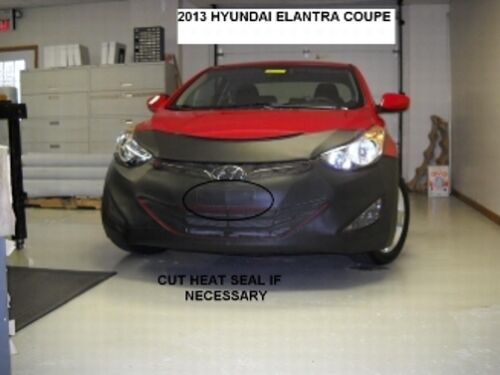 Lebra Front End Mask Cover Bra Fits 2013 13 Hyundai Elantra Coupe